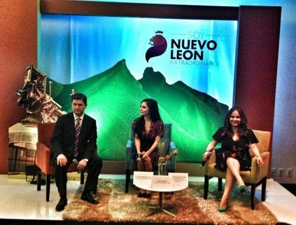 Rodrigo Medina, Martha Higareda y Patricia Aguirre