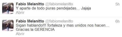 Twitter de Fabio