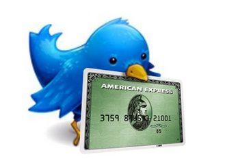 Twitter y American Express