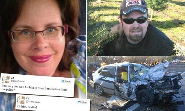 tuitea muerte de su esposo