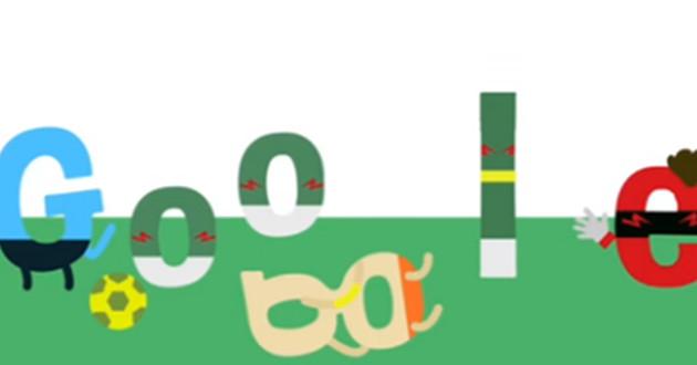 doodle clavado de Robben