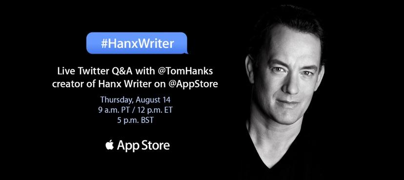 aplicación de Tom Hanks