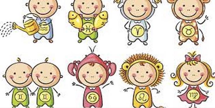 niños y los signos del zodiaco