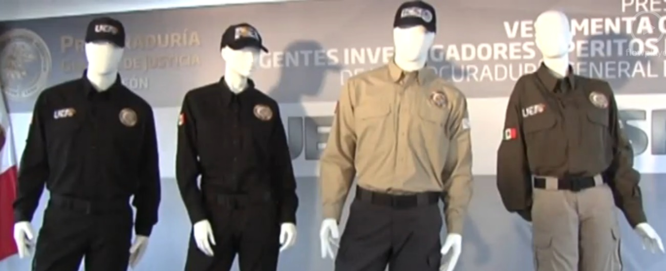 uniformes de la aei de nuevo león