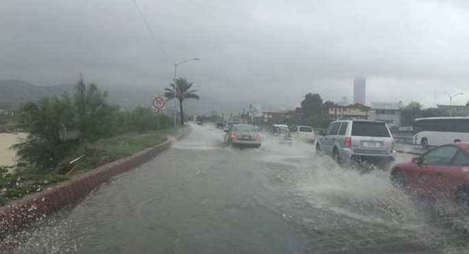 lluvias en Monterrey