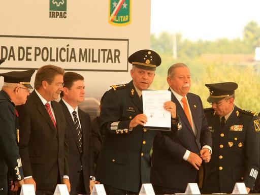 policía militar en nuevo león