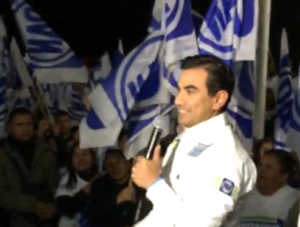 Alfonso robledo arranque de campaña