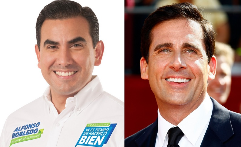 alfonso robledo y steve Carell